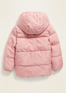 Old Navy Unisex Solid Frost-Free Puffer Jacket for Toddler