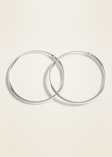 Old Navy Sterling Silver Hoop Earrings for Women