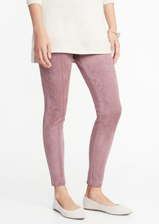 Old Navy High-Rise Stevie Faux-Suede Ponte-Knit Pants for Women
