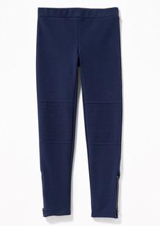 Old Navy Stevie Ponte-Knit Moto Pants for Girls