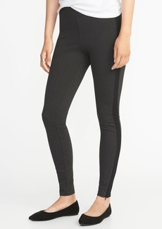 Old Navy High-Rise Stevie Side-Stripe Ponte-Knit Pants for Women