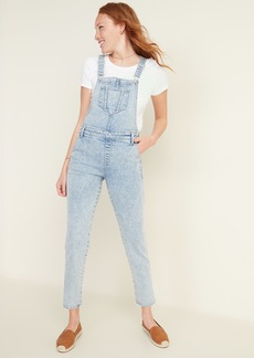 Old Navy Stonewashed Jean Overalls for Women