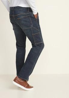 Old Navy Straight Built-In Flex Carpenter Jeans For Men