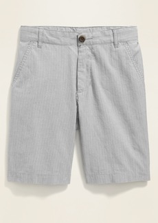 Old Navy Straight Built-In Flex Madras Shorts for Boys