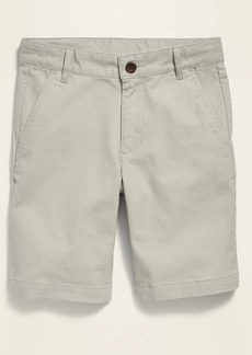 Old Navy Straight Built-In Flex Twill Shorts for Boys