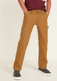 Old Navy Straight Built-In Tough Canvas Carpenter Pants for Boys