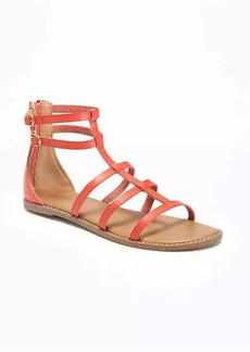 Old Navy Strappy Zip-Back Gladiator Sandals for Women