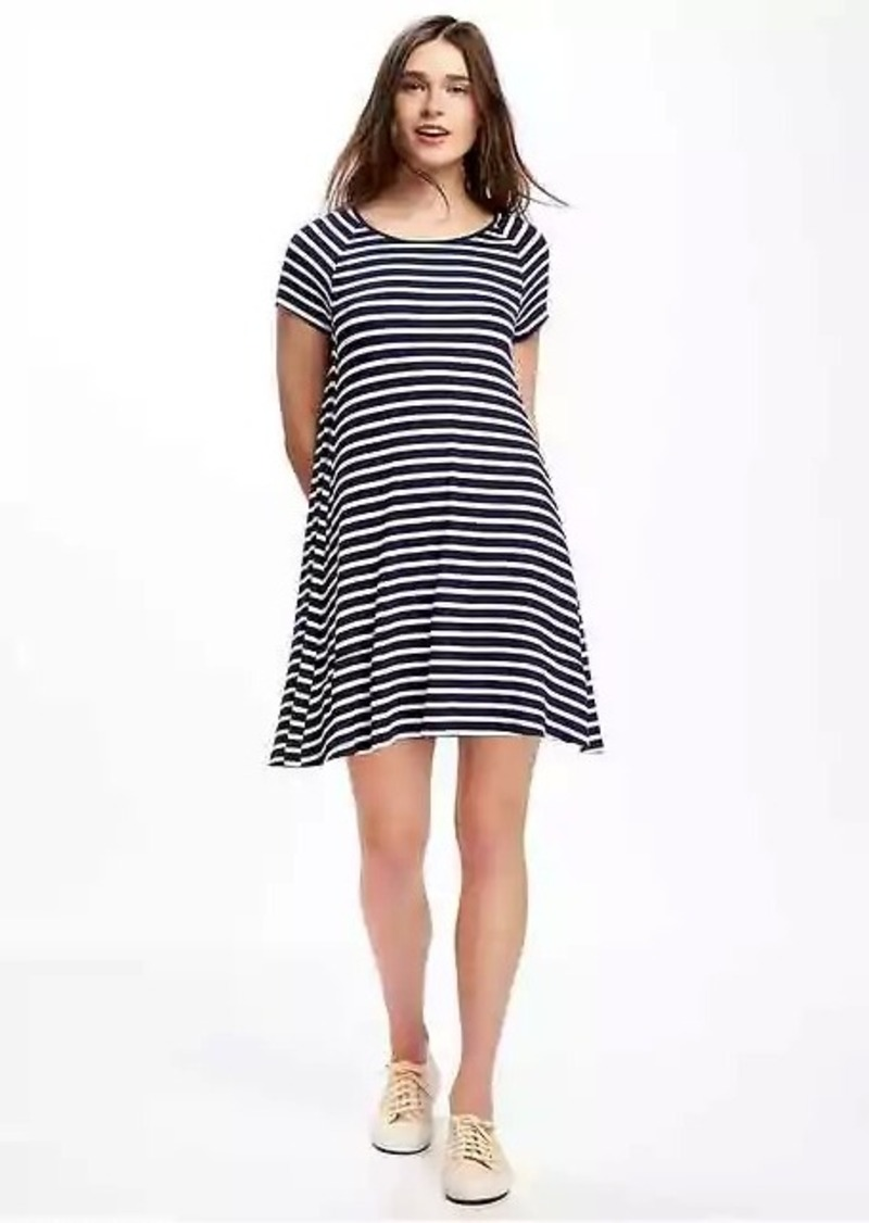 5829106af88e6 Old Navy Striped Rib-Knit Swing Dress for Women | Dresses