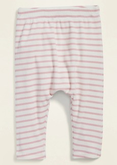 Old Navy Unisex Striped Rib-Knit U-Shaped Pants for Baby