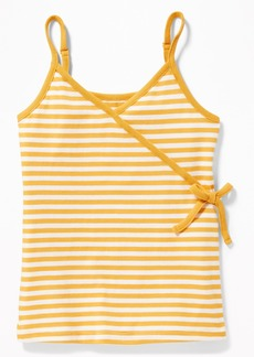Old Navy Striped V-Neck Faux-Wrap Tank for Girls