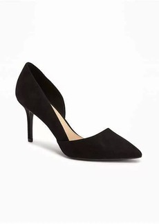 Old Navy Sueded D'Orsay Pumps for Women