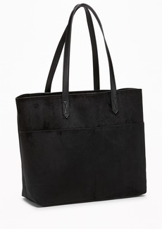 Old Navy Sueded East-West Tote for Women