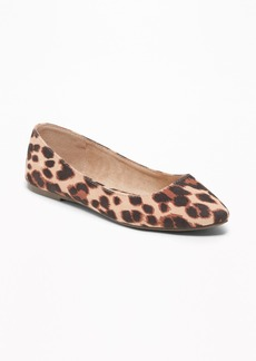 Old Navy Sueded Pointy Ballet Flats for Women