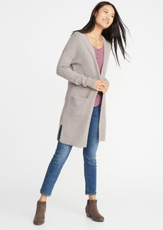 Old Navy Super-Long Open-Front Heavyweight Sweater for Women