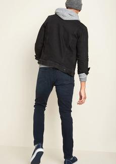 Old Navy Super Skinny Built-In Flex Max Dark-Wash Jeans for Men