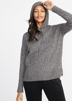 Old Navy Sweater-Knit Pullover Hoodie for Women