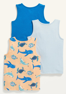 Old Navy Unisex Tank Top Variety 3-Pack for Toddler