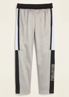 Old Navy Techie Fleece Graphic Tapered Sweatpants for Boys