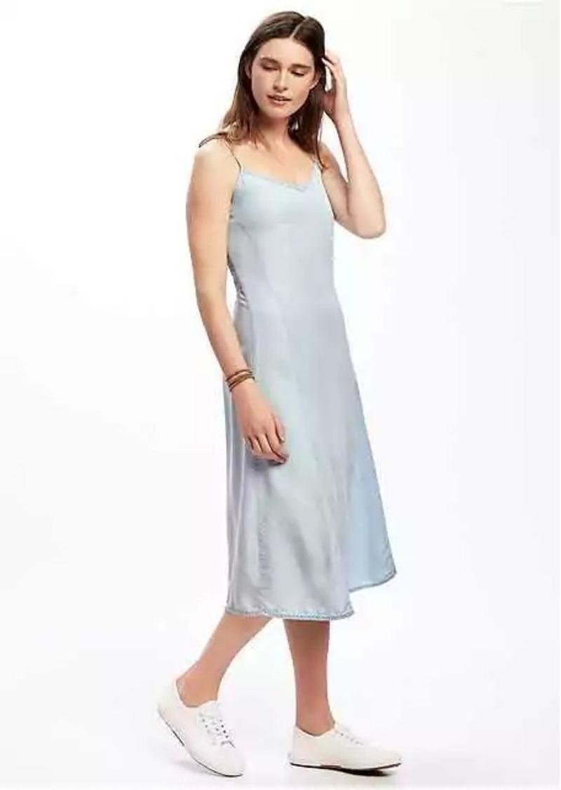 da2323dca07 Old Navy Tencel  174 Cami Midi Dress for Women