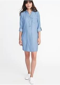 Tencel&#174 Pullover Shirt Dress for Women