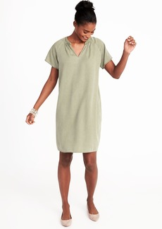 Old Navy Tencel&#174 Shift Dress for Women