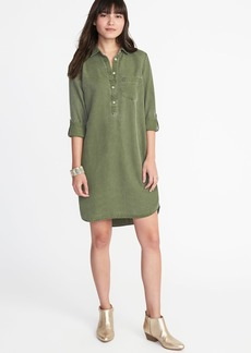 Tencel&#174 Shirt Dress for Women