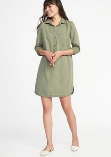 Old Navy Tencel&#174 Shirt Dress for Women