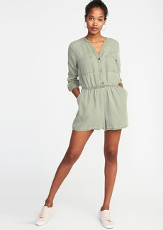 Old Navy Tencel&#174 Utility Romper for Women