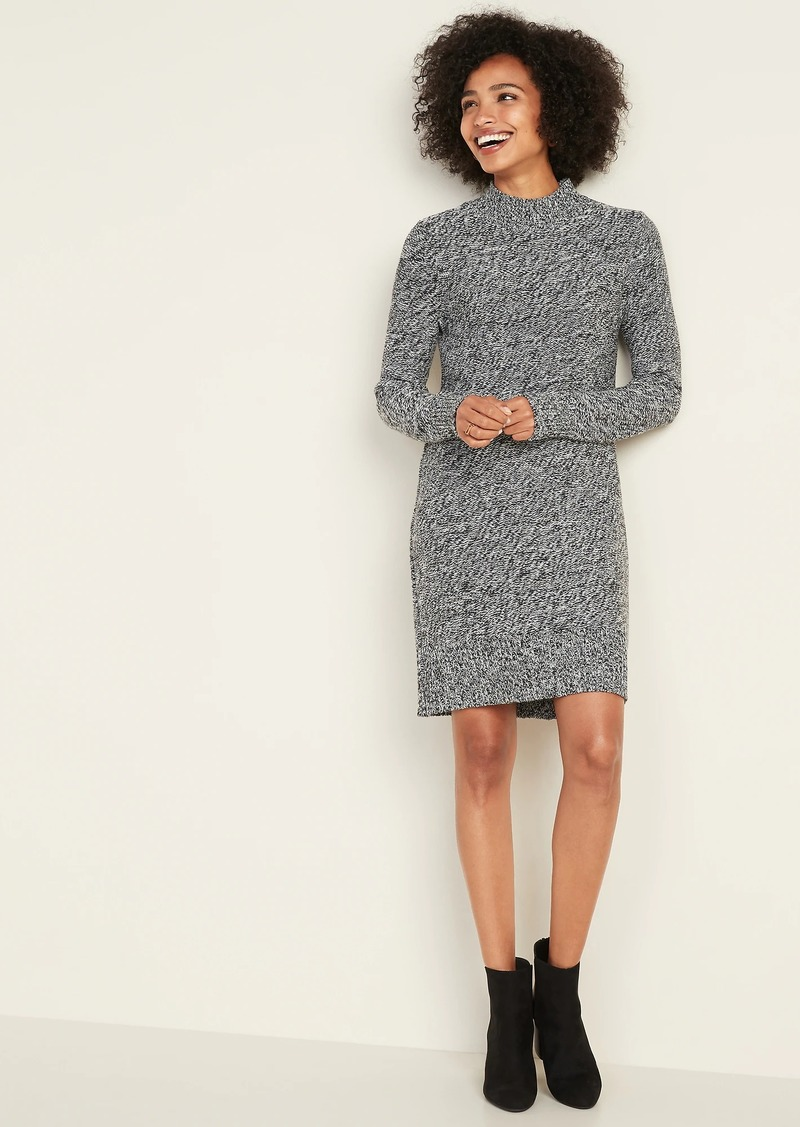 Old Navy Textured-Marl Sweater Dress for Women
