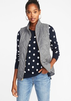 Old Navy Textured Quilted Vest for Women