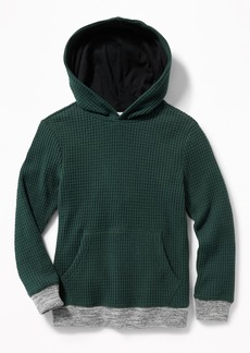 Old Navy Thermal Pullover Hoodie for Boys