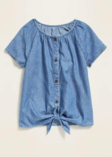 Old Navy Tie-Front Top for Girls