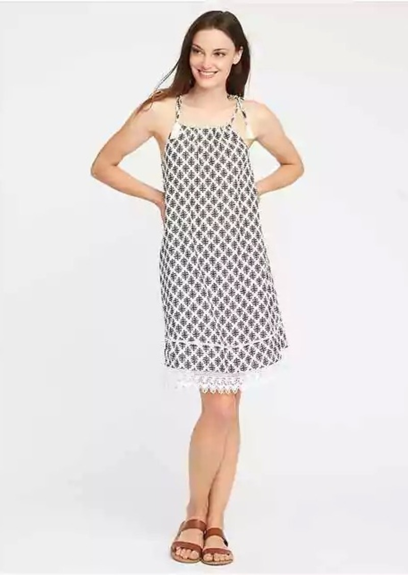 572e3bd77dc03 Old Navy Tie-Shoulder Swing Dress for Women | Dresses