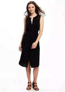 Old Navy Tie-Waist Midi Shirt Dress for Women