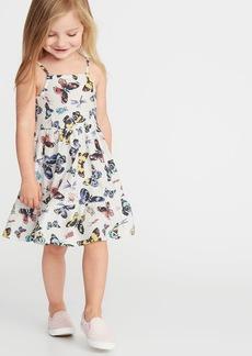 Old Navy Tiered Linen-Blend Cami Dress for Toddler Girls