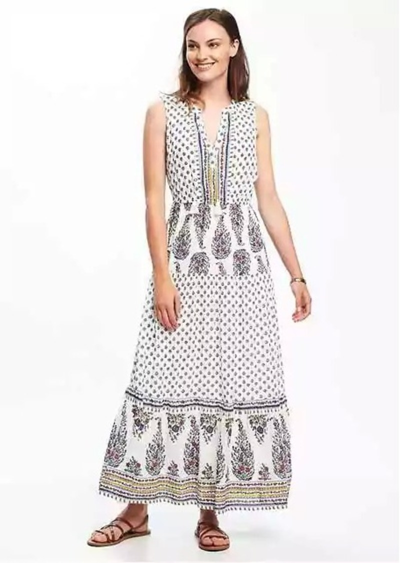 Old Navy Tiered Maxi Dress For Women Dresses