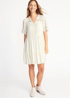 Tiered Pintuck Dress for Women