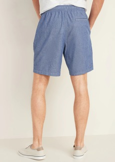 Old Navy Twill Jogger Shorts for Men -- 9-inch inseam
