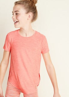 Old Navy Ultra-Soft Breathe ON Built-In Flex Tulip-Hem Tee for Girls