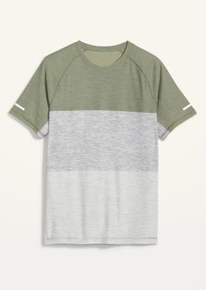 Old Navy Ultra-Soft Breathe ON Color-Blocked Performance Tee for Men