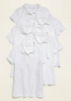 Old Navy Uniform Pique Polo 5-Pack for Girls