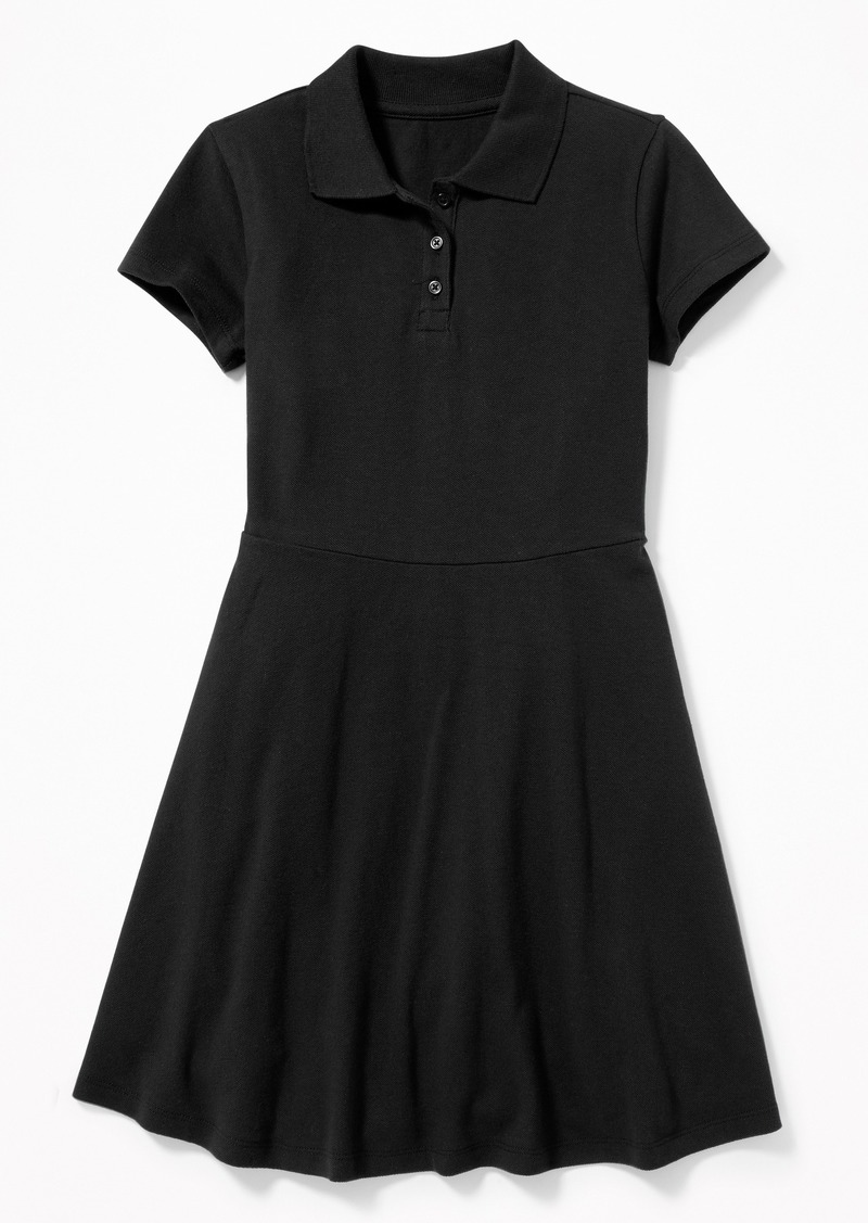 Old Navy Uniform Pique Polo Dress for Girls