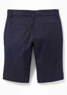 Old Navy Uniform Skinny Twill Bermudas for Girls