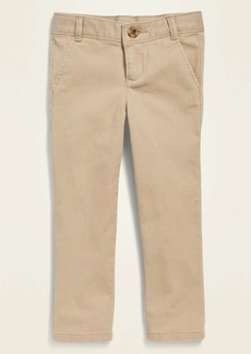 Old Navy Uniform Skinny Twill Pants for Toddler Girls