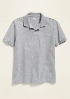 Old Navy Uniform Stain-Resistant Built-In Flex Pique Polo for Boys