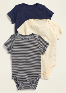 Old Navy Unisex Bodysuit 3-Pack for Baby