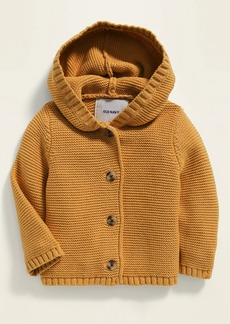 Old Navy Unisex Button-Front Hooded Sweater for Baby
