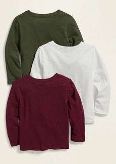 Old Navy Unisex Crew-Neck Tee 3-Pack for Toddler