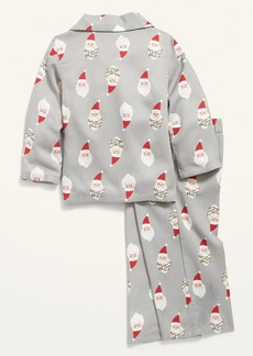 Old Navy Unisex Holiday-Print Pajama Set for Toddler & Baby