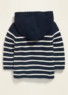 Old Navy Unisex Hooded Button-Front Cardigan Sweater for Baby